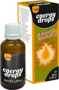 а7108 Капли обоюдные Energy Drops Taurin+Guarana (m+w) - 30 ml